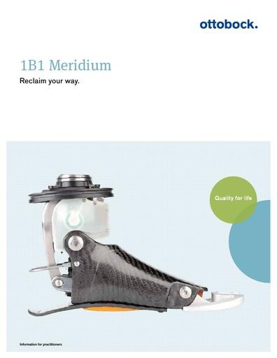 Ottobock Meridium foot for C Leg