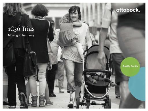 Ottobock Trias Foot for C Leg